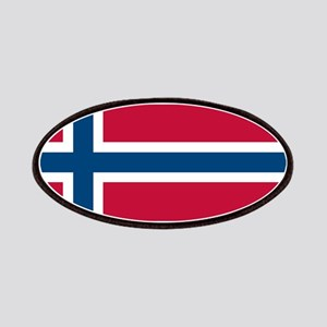 Norwegian Flag Patches